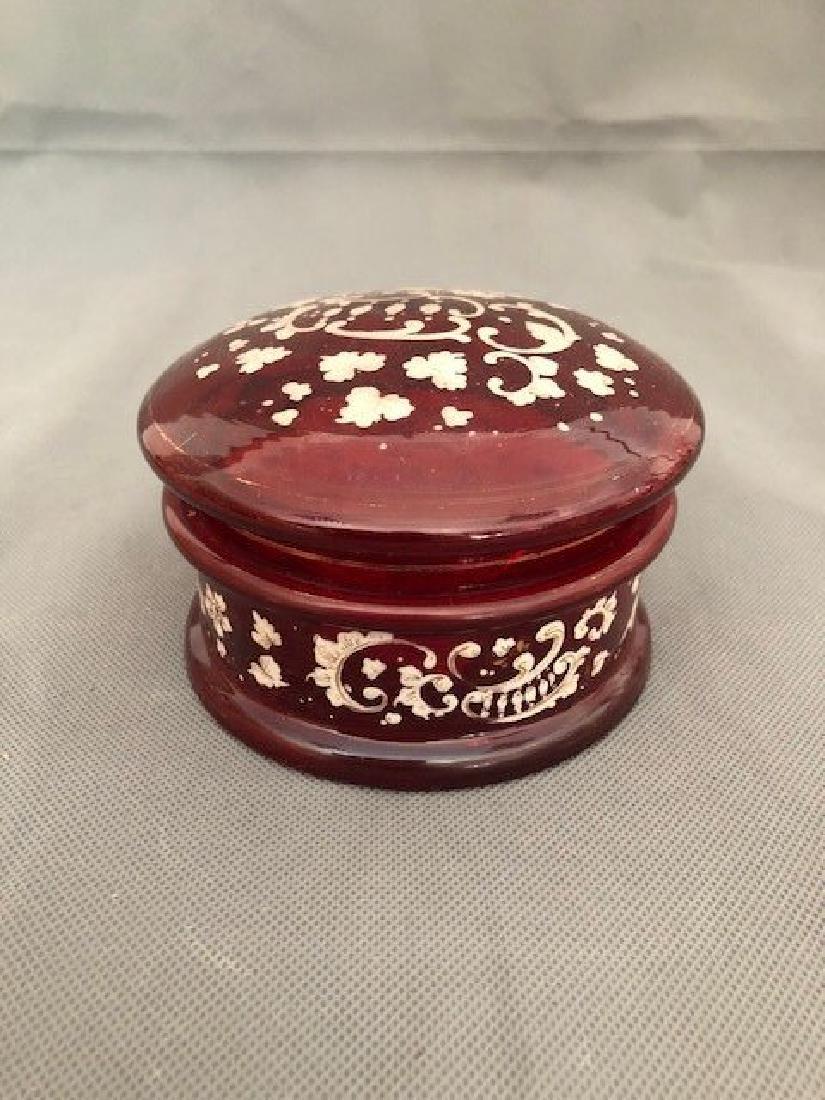 Bohemian ruby box
