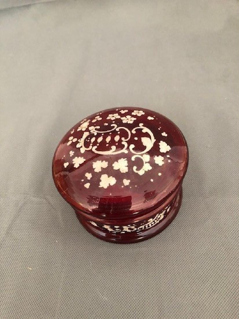 Bohemian ruby box - 2
