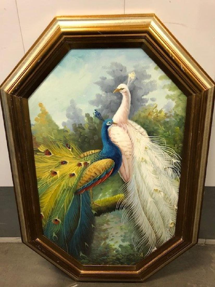 Oil Painting of a Bird