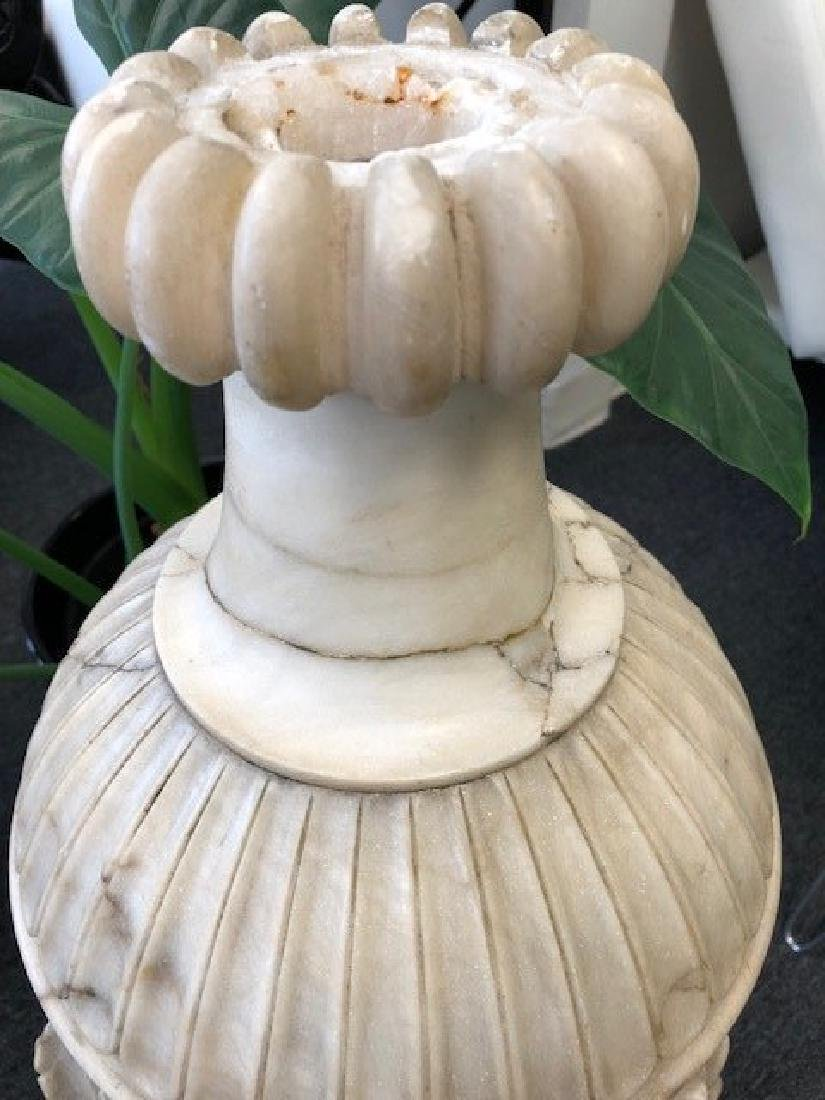 Large Marble or Alabaster Vase - 3