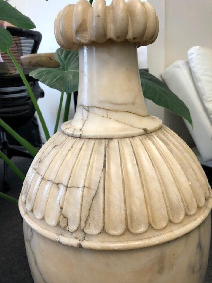 Large Marble or Alabaster Vase - 6