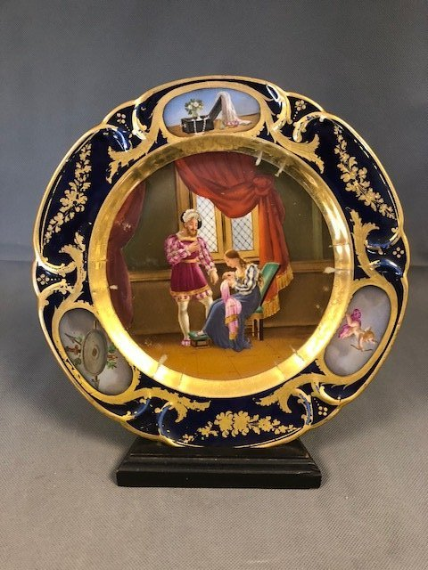 French plate