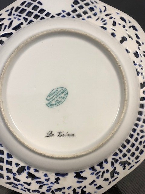 Possibly German plate - 3