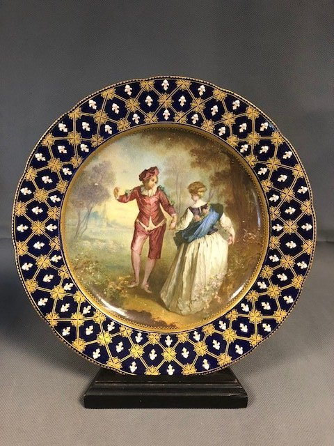 Sevres plate