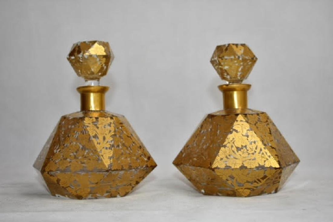 pair of French bottles