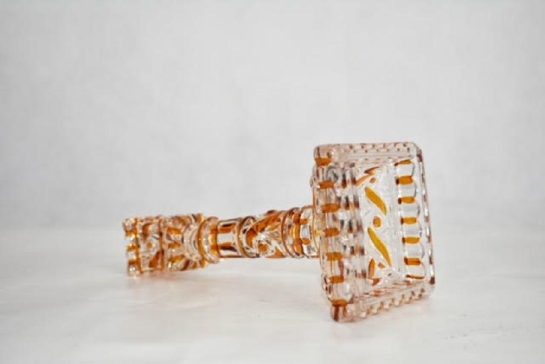 baccarat candle stick 18 cm - 2