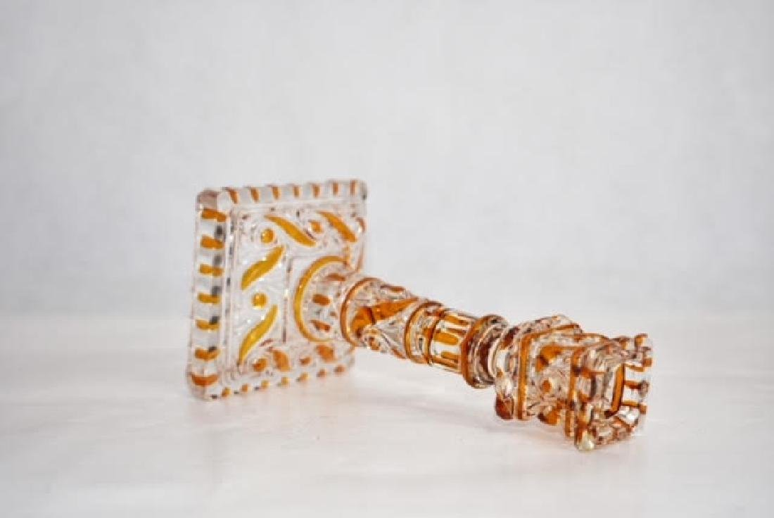baccarat candle stick 18 cm - 3