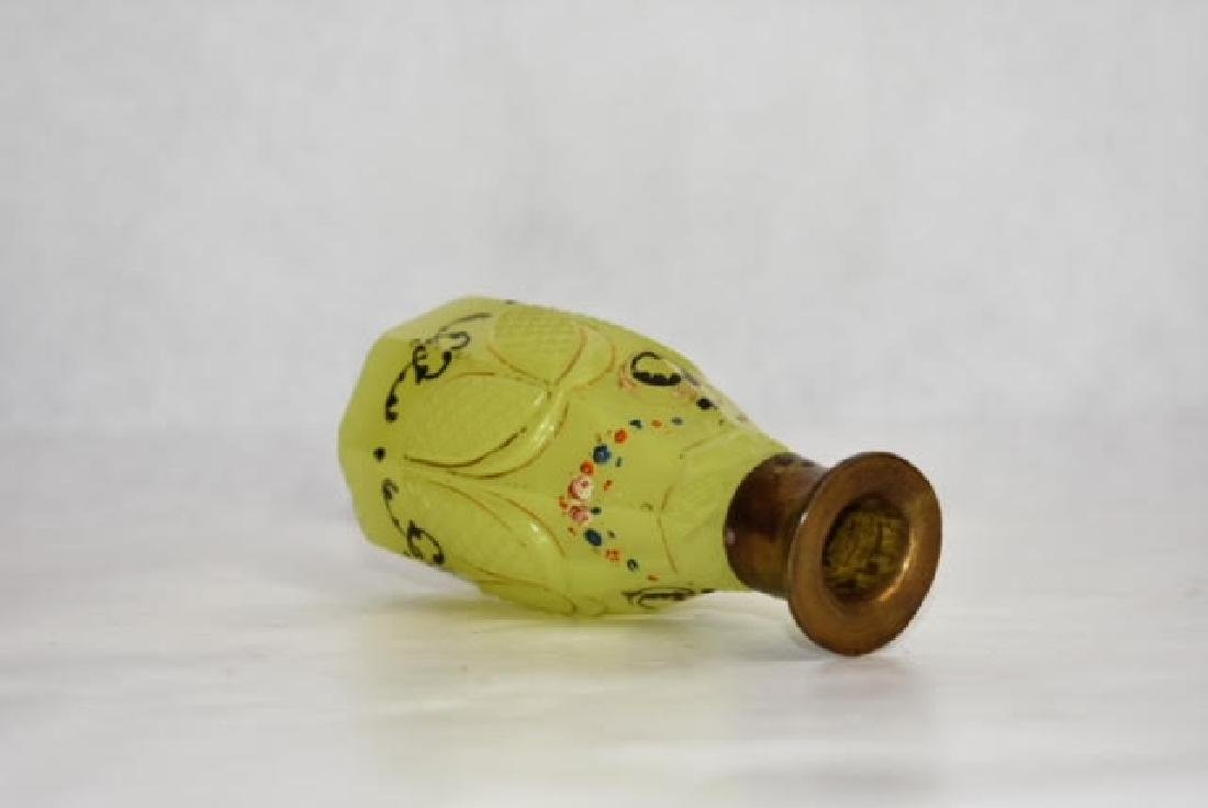 bohemian yellow bottle 12 cm - 3