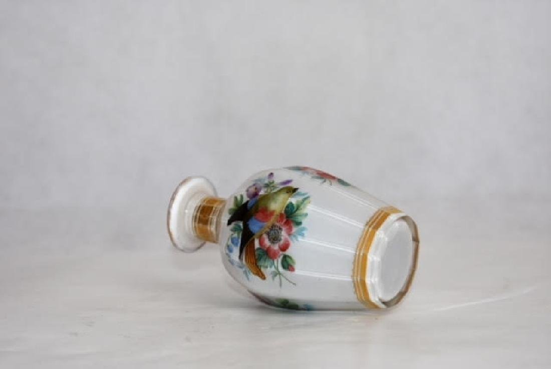 French opaline bottle 11 cm - 2