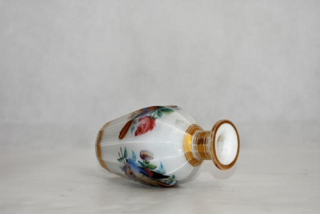 French opaline bottle 11 cm - 3