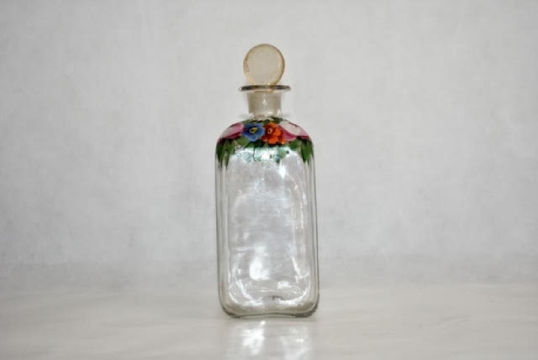 bohemian bottle 17 cm