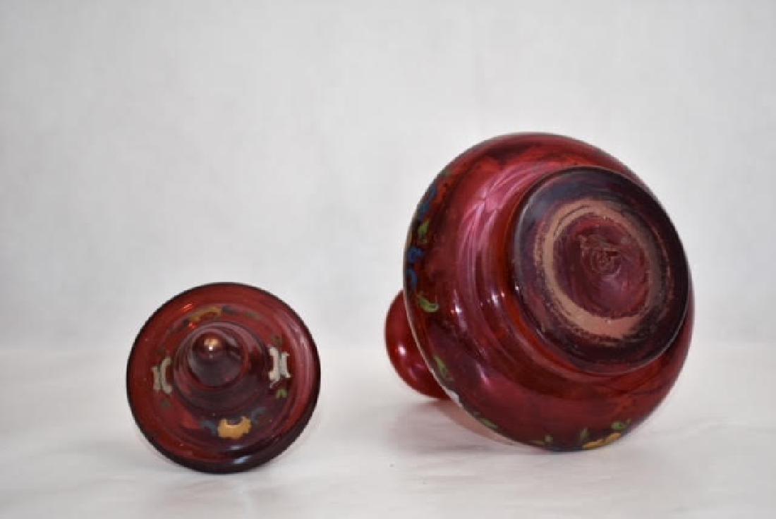 bohemian decanter 22 cm - 3