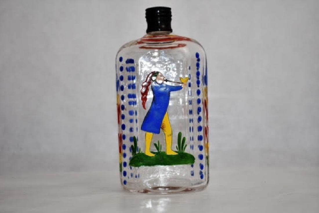 bohemian flask 15 cm