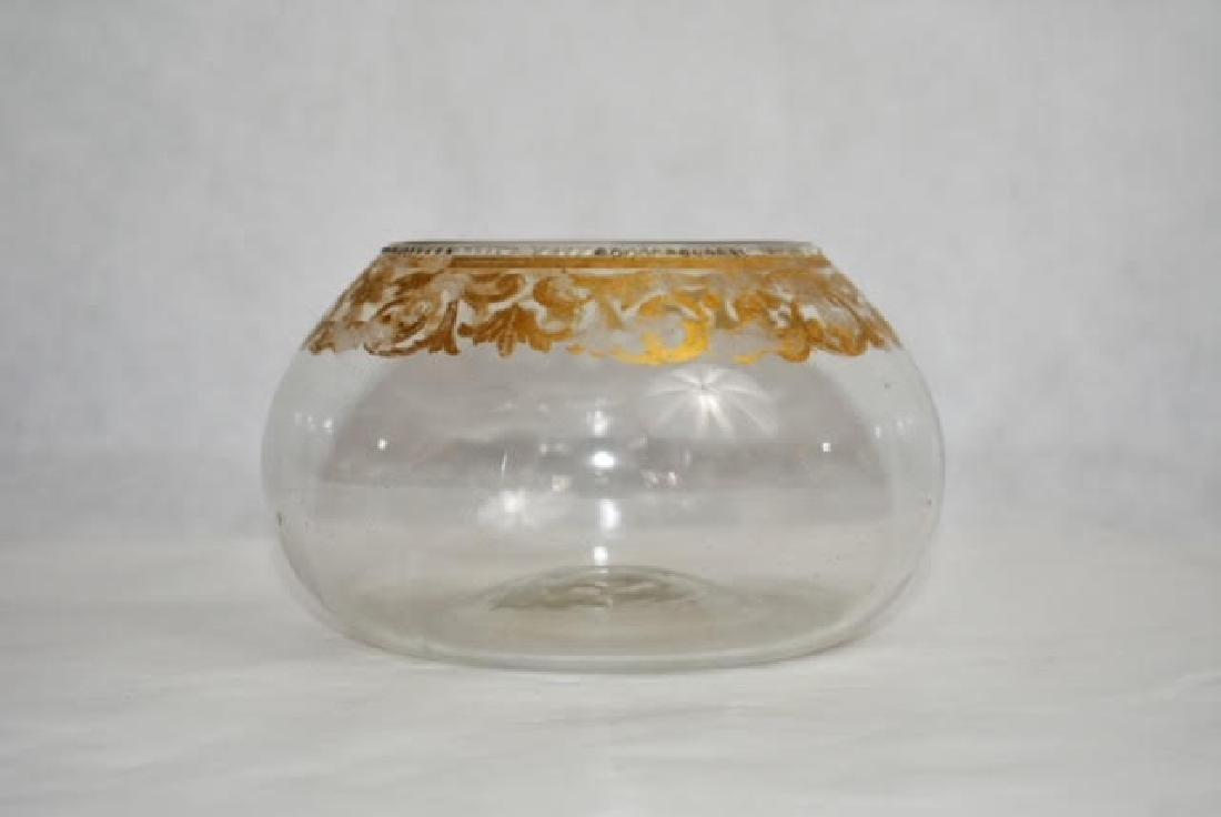 Venetian bowl 8 by 15 cm