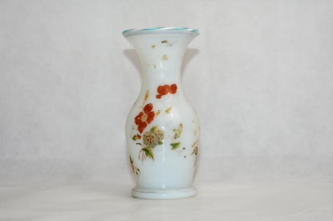 French opaline vase 15 cm