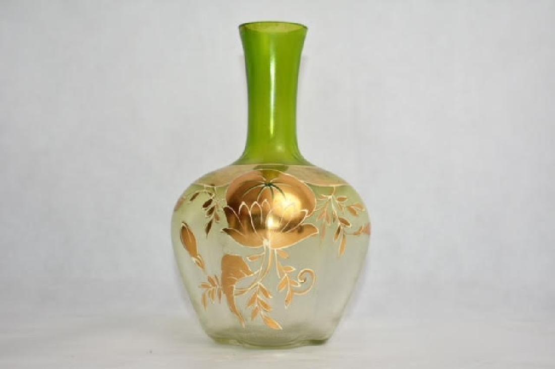 moser vase 21 cm