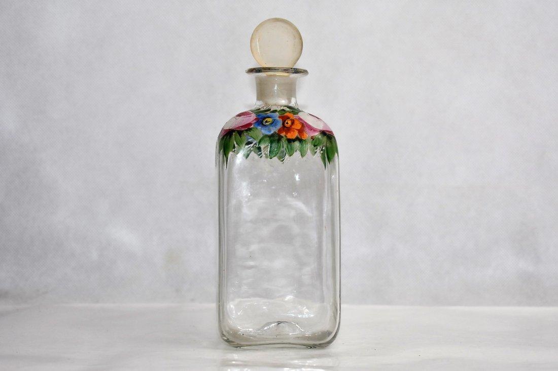 possibly bohemian flask 19 cm