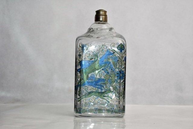 bohemian flask 19 cm