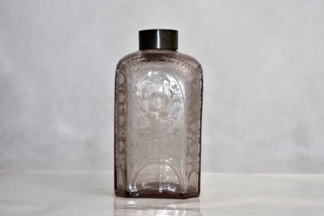 possibly 18th bohemian flask