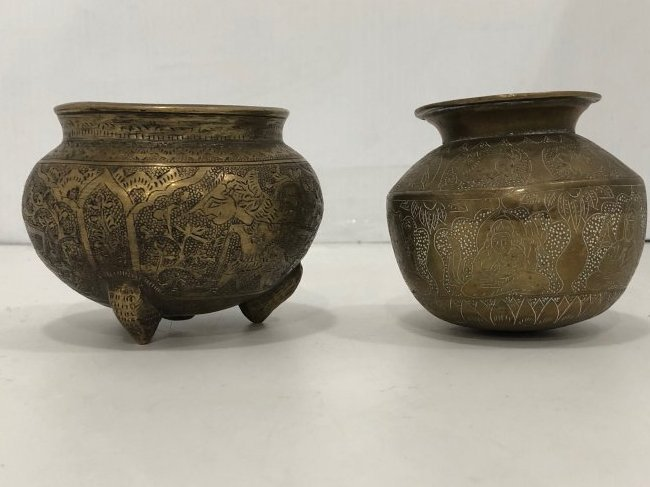 Pair of bowls. Well detailed
