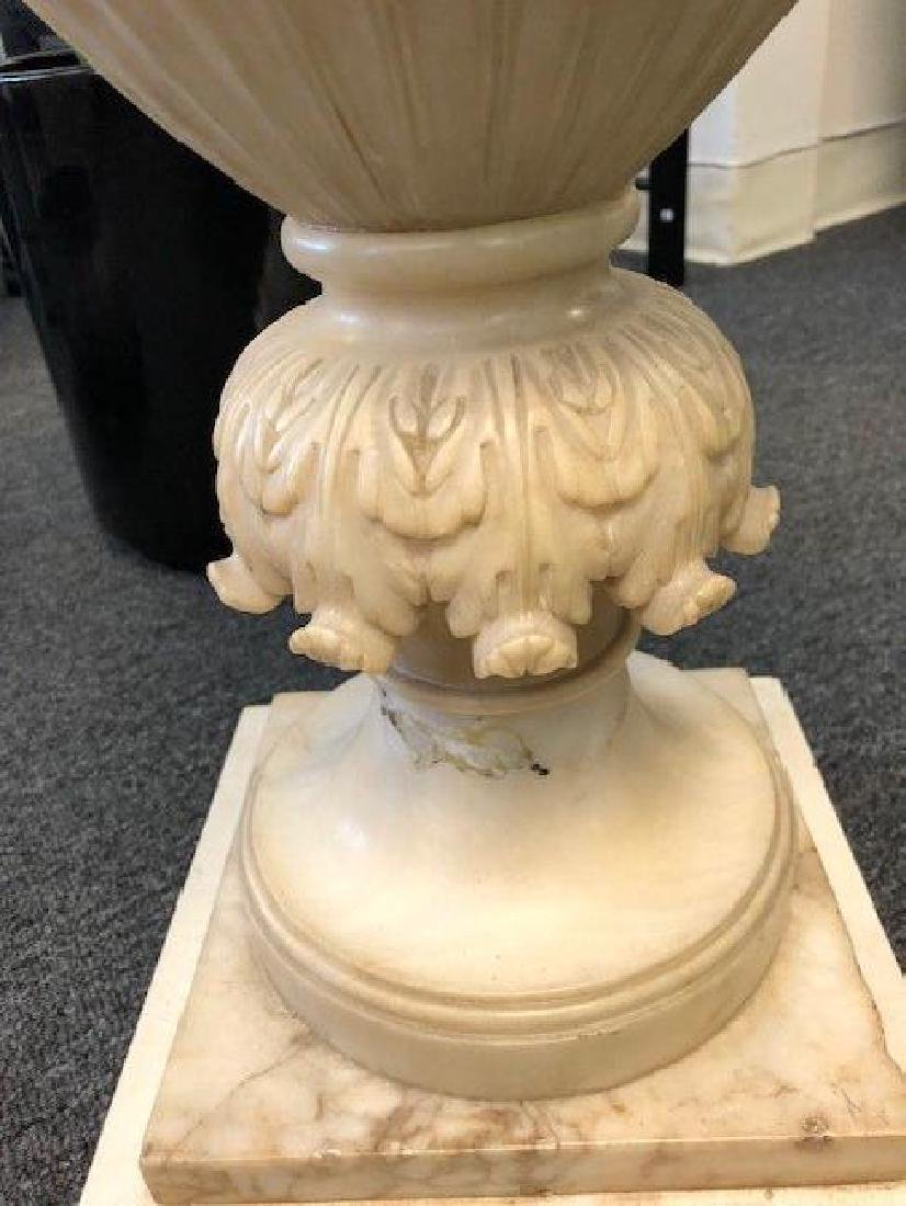 Large Marble or Alabaster Vase - 5