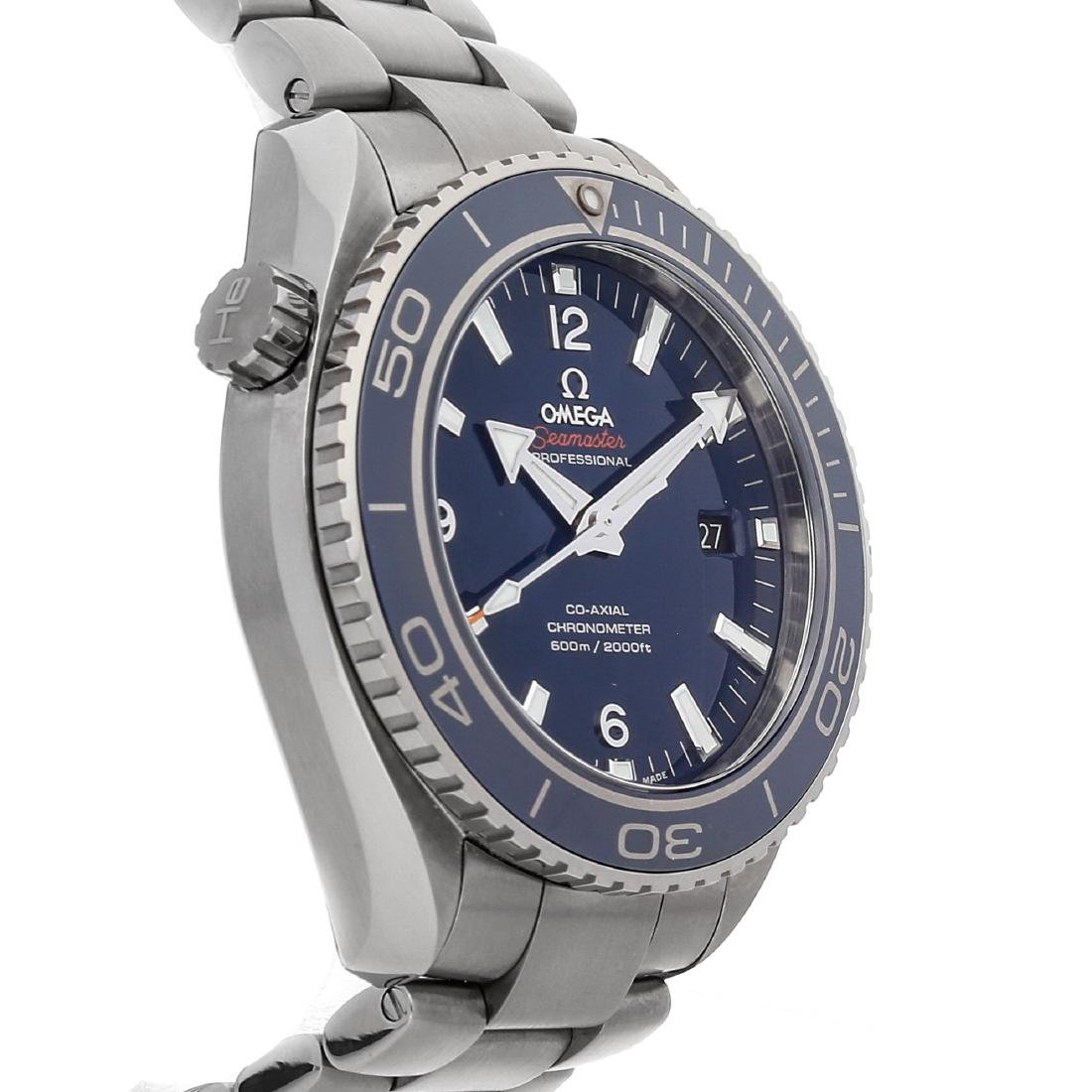 OMEGA SEAMASTER PLANET OCEAN 600M CO-AXIAL - 4