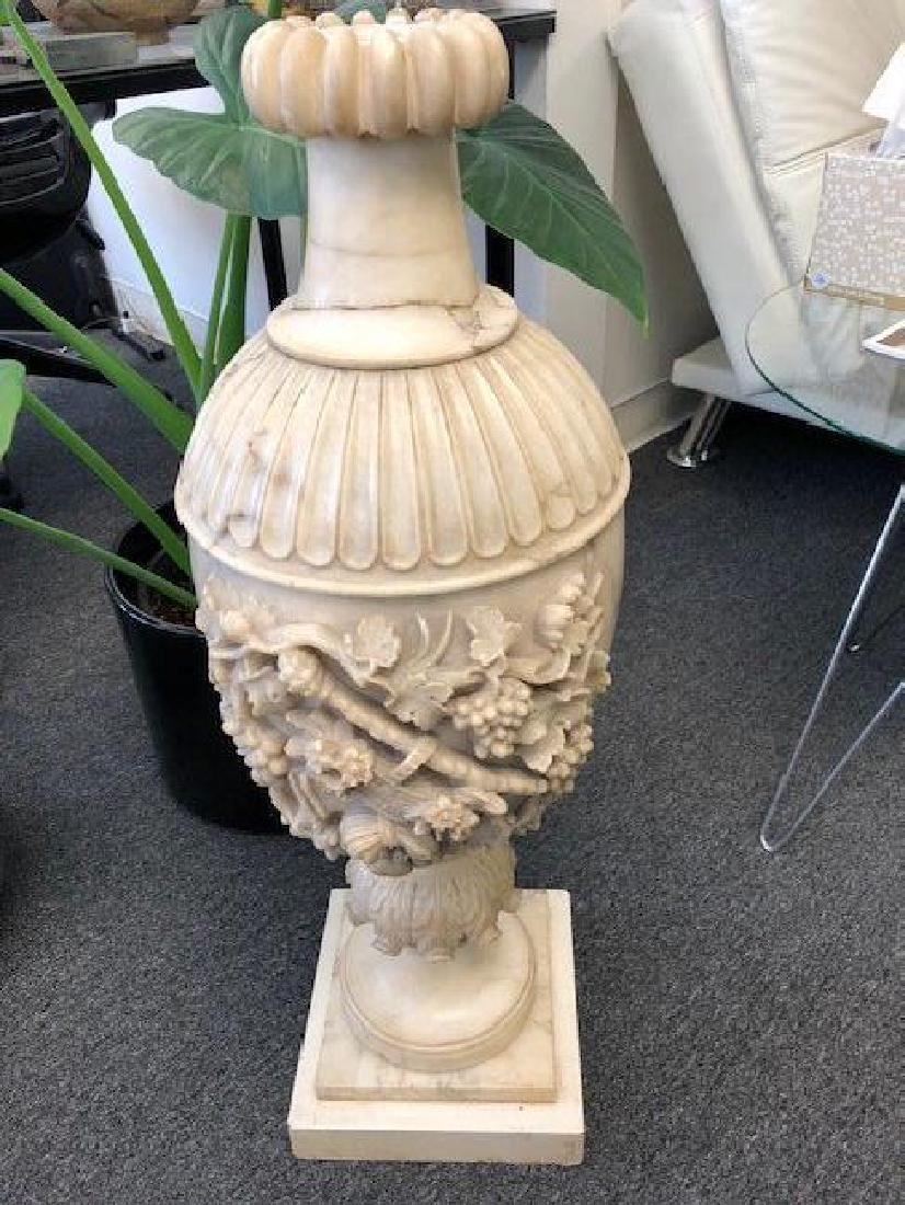Large Marble or Alabaster Vase