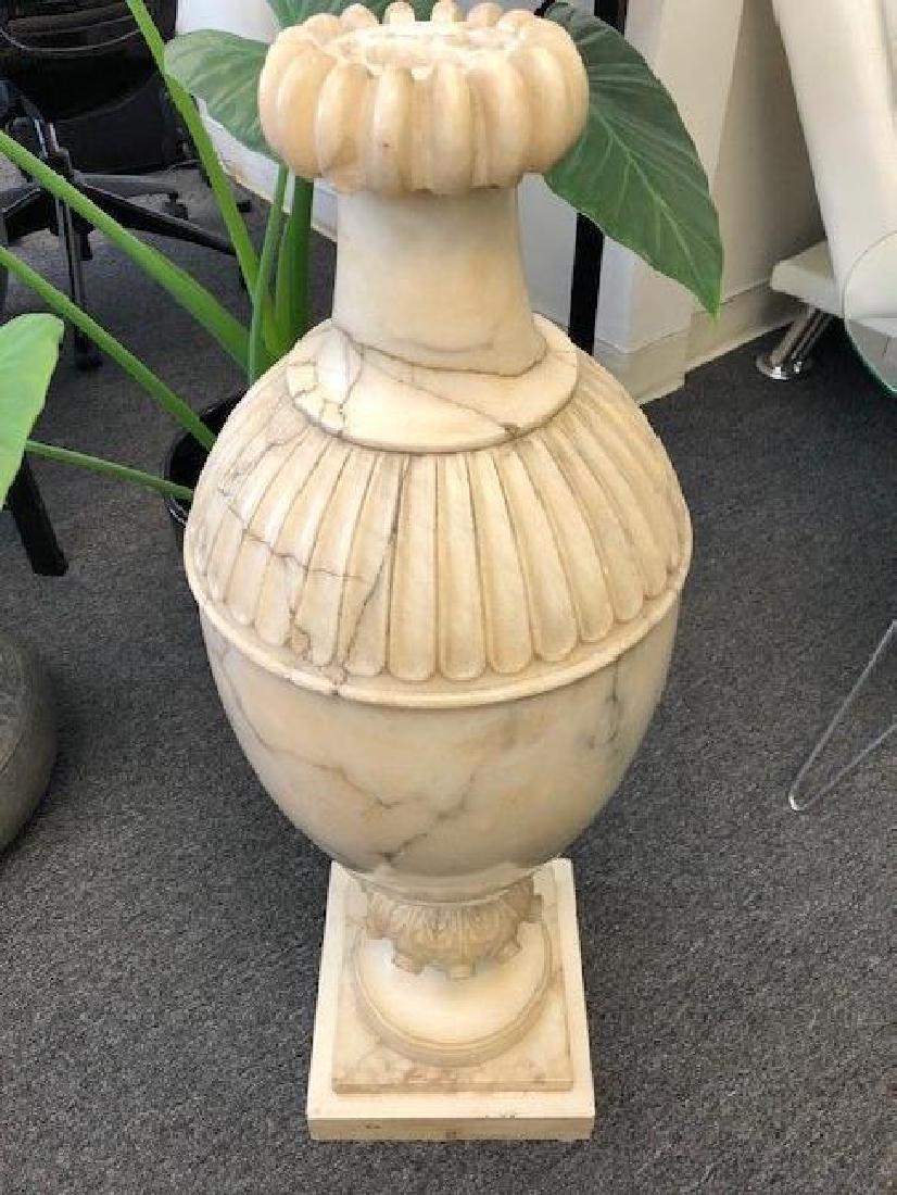 Large Marble or Alabaster Vase - 4