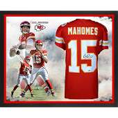 Patrick Mahomes Nike Red Game 2018 NFL MVP Jersey