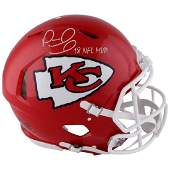 """Patrick Mahomes Riddell Speed Authentic Helmet with """"18"""
