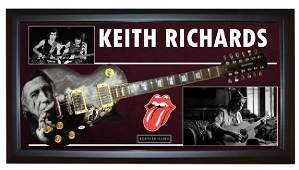 Rolling Stones Keith Richards Signed 12String Guitar +