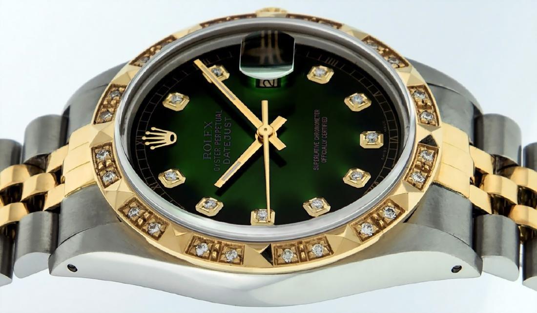 Rolex Mens Datejust 16013 Watch SS/18K Yellow Gold - 10