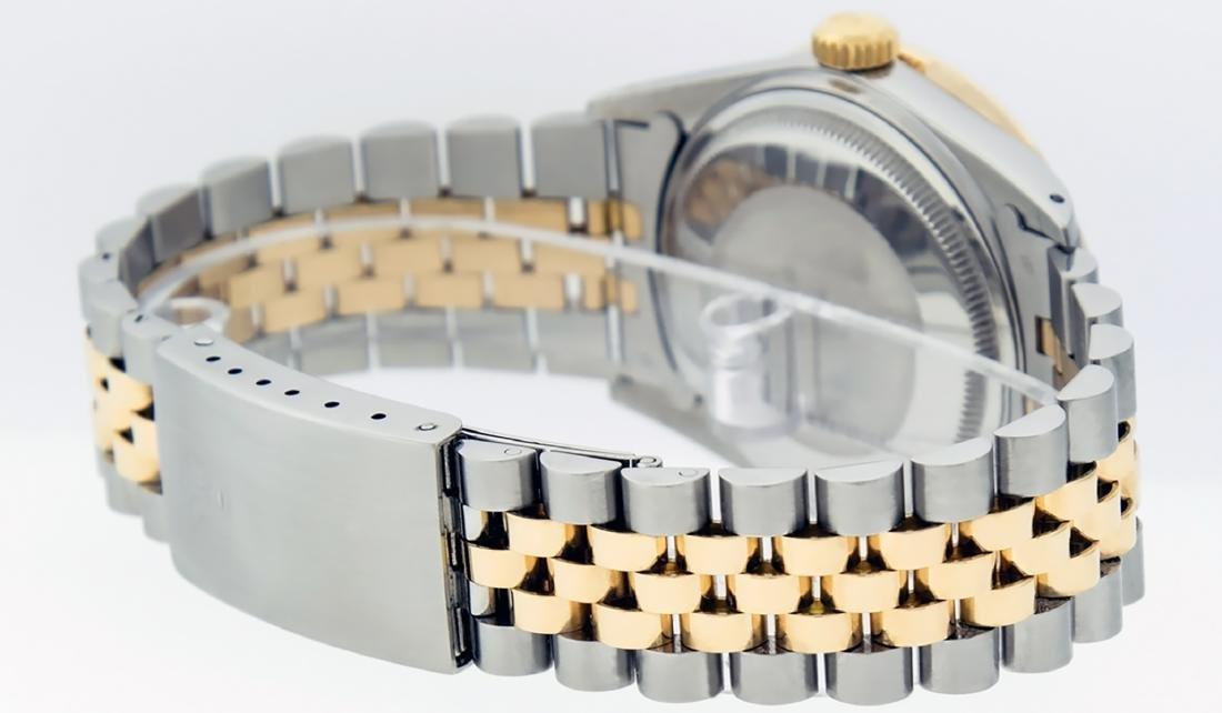 Rolex Mens Datejust 16013 Watch SS/18K Yellow Gold - 4