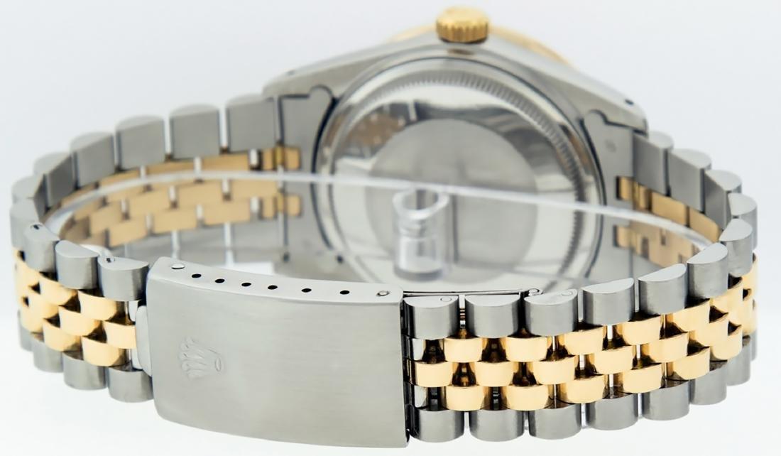 Rolex Mens Datejust 16013 Watch SS/18K Yellow Gold - 5