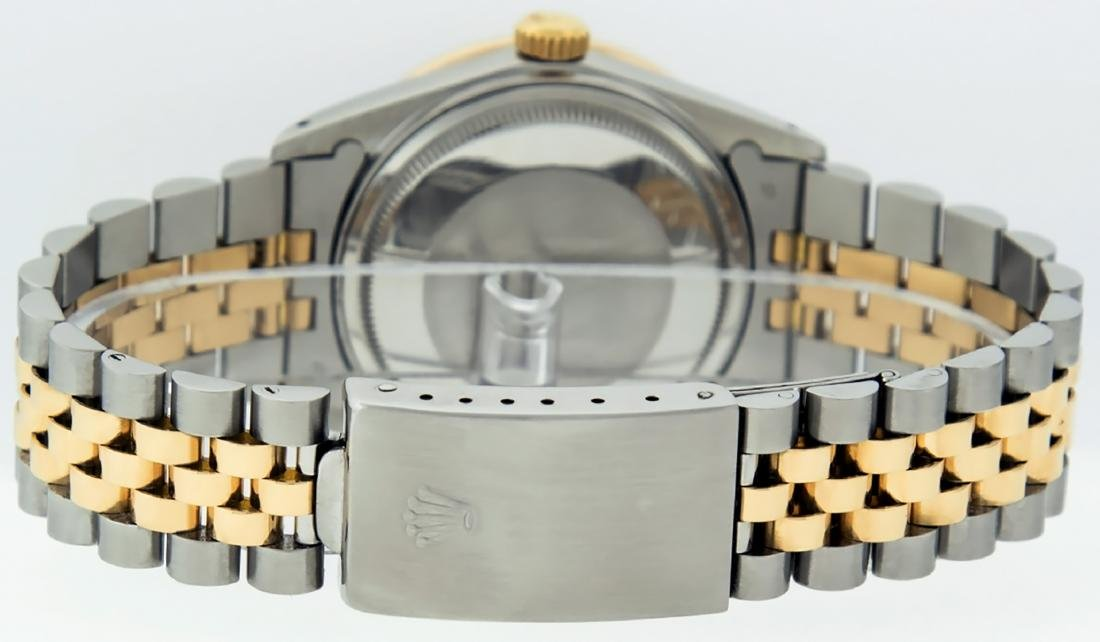 Rolex Mens Datejust 16013 Watch SS/18K Yellow Gold - 6