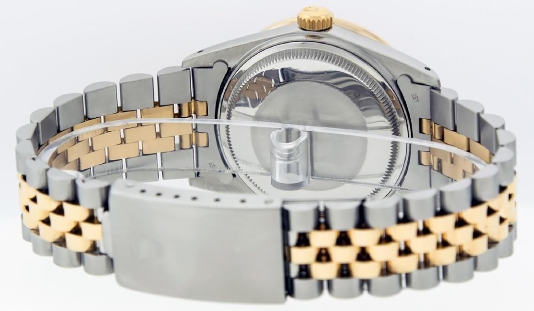 Rolex Mens Datejust 16013 Watch SS/18K Yellow Gold - 7
