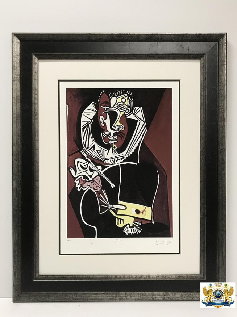 After Pablo Picasso Portrait of a Painter Lithograph