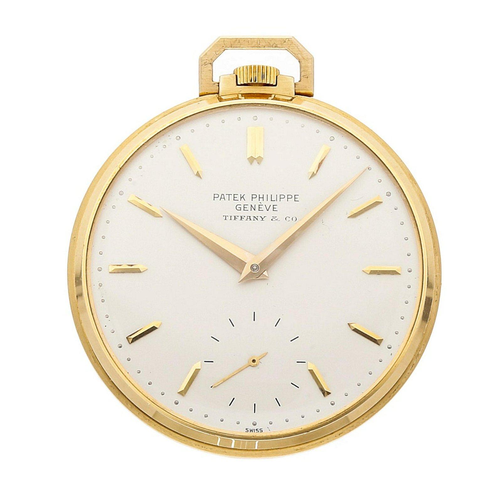 "Patek Philippe Vintage ""Tiffany & Co."" Pocket Watch"