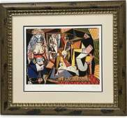 After Pablo Picasso Lithograph
