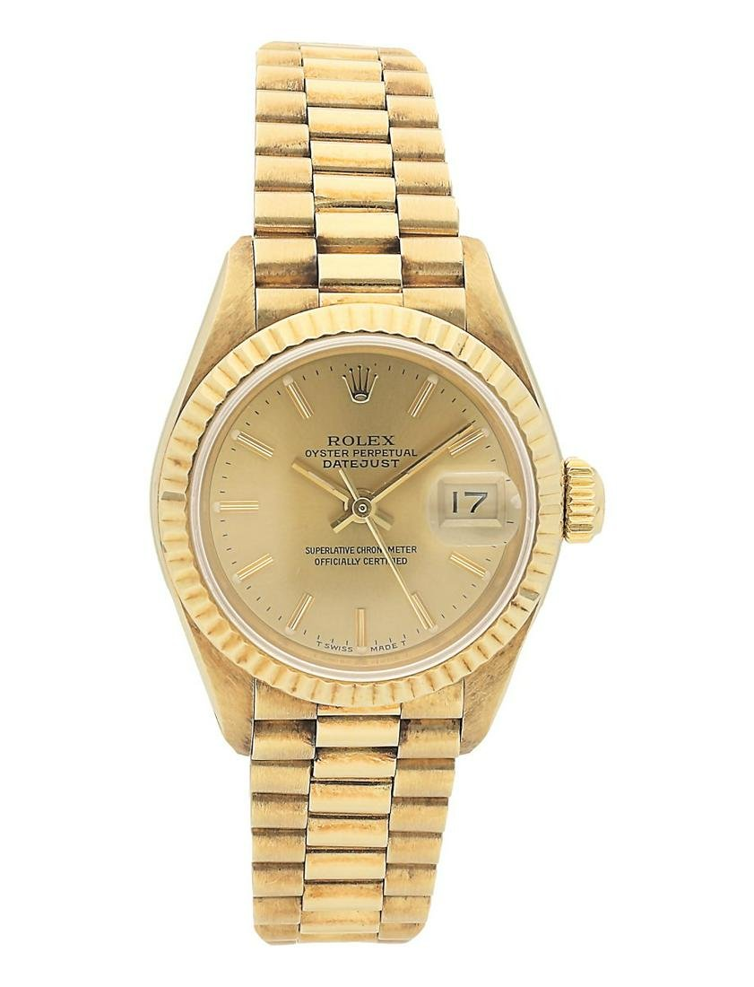 ROLEX PRE-OWNED ROLEX OYSTER PERPETUAL LADIES 26MM