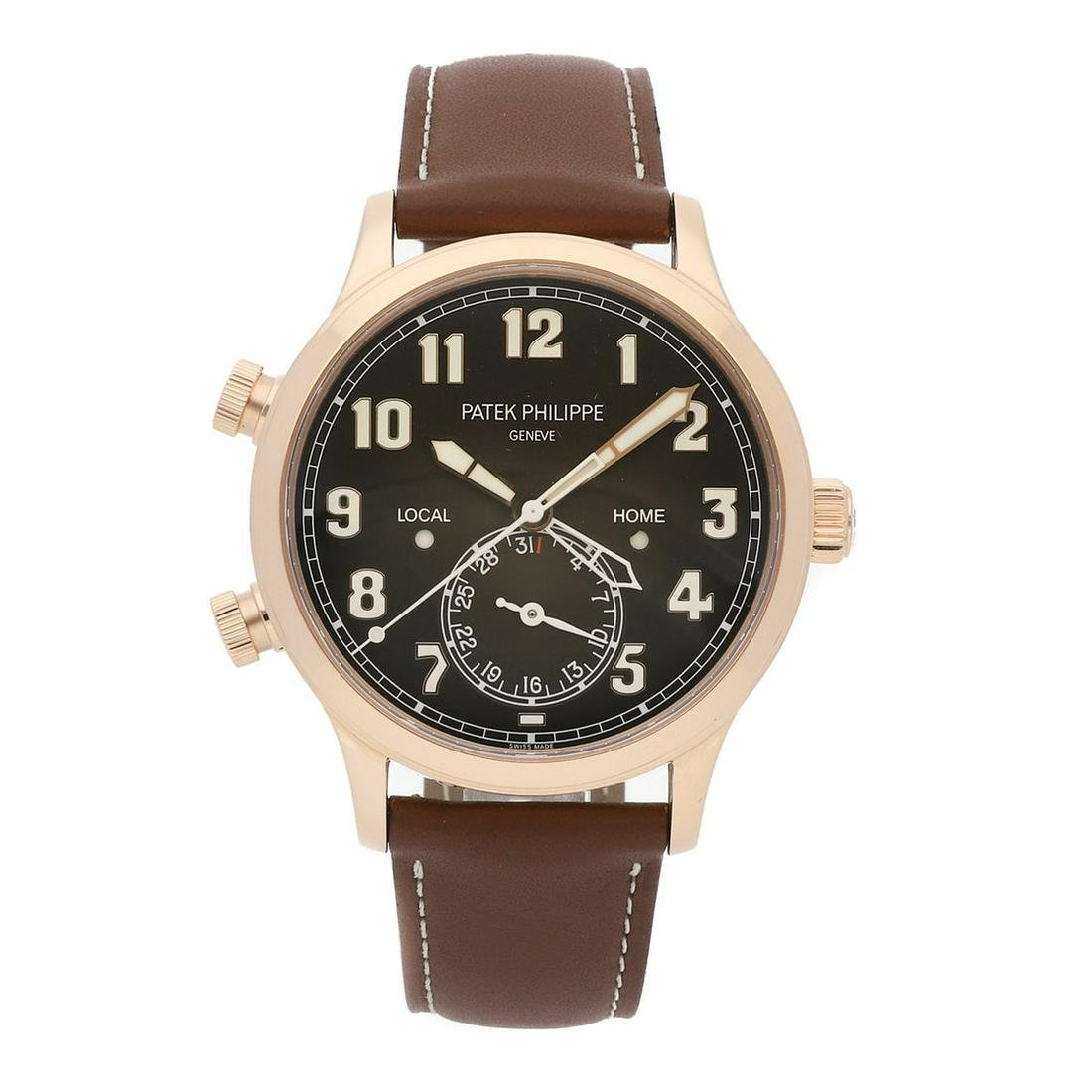 PATEK PHILIPPE COMPLICATIONS CALATRAVA PILOT TRAVEL