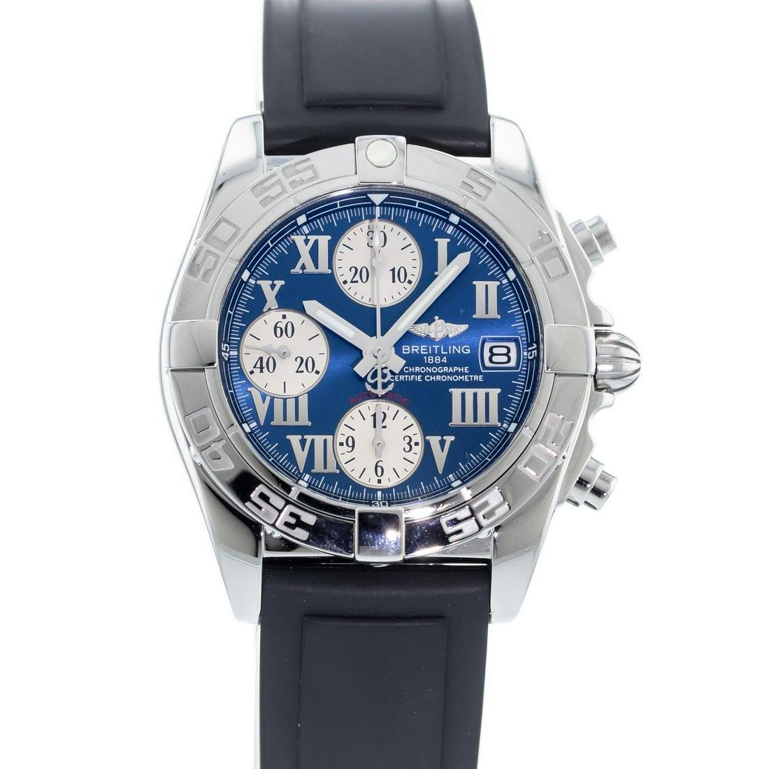 BREITLING GALACTIC CHRONO A13358L2 MEN'S WATCH