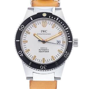 IWC GST AQUATIMER 2000 IW353603 MENS WATCH