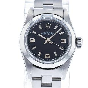 ROLEX OYSTER PERPETUAL 67180 WOMENS WATCH