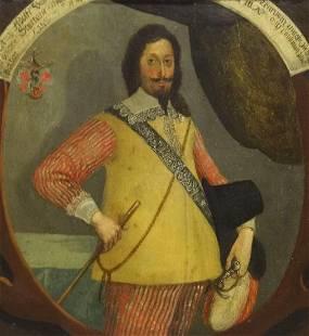 17th Century German Old Master Gentleman Portrait Sword