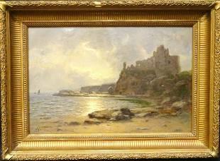 Large 19th Century Scottish Tantallon Castle Berwick