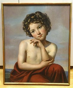 Large 19th Century French Neo Classical Boy Nude