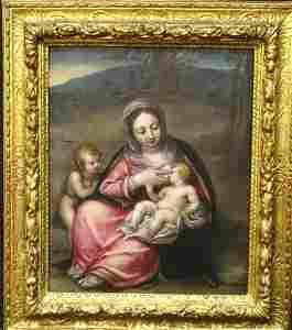 16th Century Italian Old Master Madonna Infant Christ