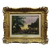 "Henry John Yeend King 19th Century ""View in Surrey"