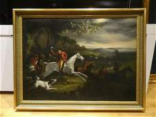 Huge 19th Century English Colonel Thornton Fox Hunt